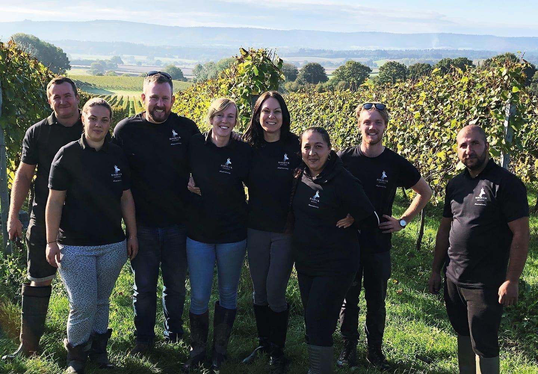 Roebuck Estates 2019 Harvest Team