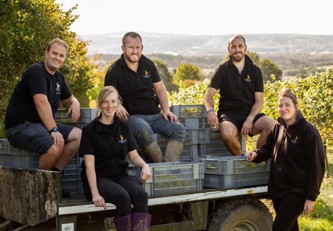 Roebuck Estates harvest team 2020
