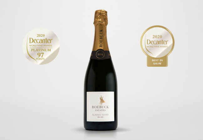 Best in Show Trophy - Roebuck Estates Classic Cuvée 2014